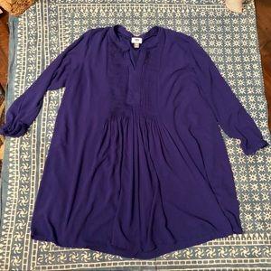 Purple-Blue Dress